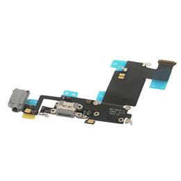 Wholesale Dock Flex Cable - 50PCS USB Dock Connector Charger Charging Port Flex Cable for iPhone 6 6s 4.7inch 6 Plus 5.5inch free DHL