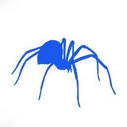 Wholesale Wild Decor - Wild Animal Terror Silly Spider Car Stickers for Motorhome Minicab Motorcycles Laptop Car Decor Waterproof Vinyl Decal