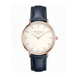 Wholesale Sinobi Stainless Steel Black - Luxury Brand sinobi simple watch Fashion Women's Watches Ladies Leather Wristwatch Rose Gold Female dress Clock hours