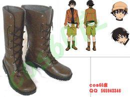 Wholesale Custom Made Diary - Wholesale- New Custom-made The Future Diary Amano Yukiteru Cosplay Costume boot shoes