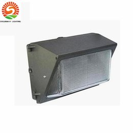 Wholesale Outdoor Led Wall Wash Lighting - LED Wall Pack 60W 80W fixture lights Flood Light Wash Lamp Energy Savings efficient FACTORY DIRECT building outdoor lighting UL CSA DHL Free
