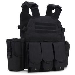 Wholesale Outdoor Vests For Men - Cheap Sports outdoor US Molle Tactical Vest CS Combat Vest Hunting Practical Plate Carrier for Sale