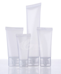 15 ml de tampões de garrafa de vidro em âmbar Desconto 15g 30g 50g 100g mangueira de cosméticos embalagens de limpeza facial tubo Squeeze Garrafa de plástico Mangueiras de limpeza de cosméticos creme para as mãos
