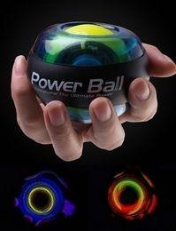 Wholesale Wrist Power Exercise - Fitness Exercise Gyro Wrist Exerciser Gyroscope Power Ball Gyro Power Ball LED Glow Wrist Ball Golf