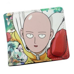 Wholesale White Tail Cosplay - Wholesale- One Punch Man  Fairy Tail Zelda Hell Sing Anime Cosplay Wallet With Card Holder Dollar Price