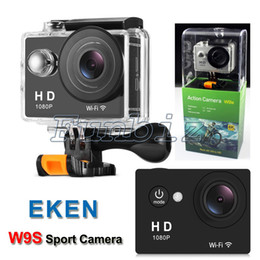 Wholesale Hdmi Car Screen - SJ6000 Style EKEN W9S WIFI 2 inch Screen Action Camera Waterproof 30M Mini DV Camcorder Sport Cameras HDMI 1080P 140D Lens Car DVR