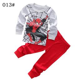 Wholesale Denim Tshirt - christmas costumes for kids suit baby tshirt pants kids Christmas Pajamas polka dots pants girls christmas deer children's sets clothing