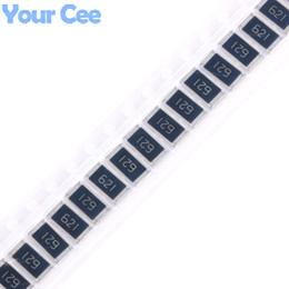 Canada Vente en gros- 50 pcs SMD puce résistance 2512 1W 620R 620 ohm 621 5% Résistance fixe Kit bricolage cheap smd resistors kit Offre