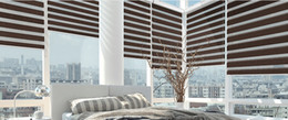 Wholesale Roller Shades Windows - Wholesale-sun shading day and night zebra blind