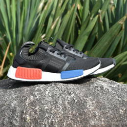 Wholesale Table Tennis Shoes Free Shipping - With Box 2017 NMD Runner PK Discount Running Shoes Men Women Mesh Boost Cheap Sports Shoes Wholesale Sneakers Free Shipping US 5-11.5