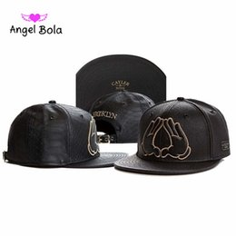Wholesale Leather Gold Snapback - Angel Bola New Sale CAYLER & SON Hats New Snapback Cap Men Snapback Cap Cheap Cayler and Sons snapbacks Sports Caps Fashion Caps
