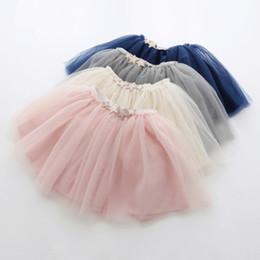 Wholesale Korean Girls Gown - Girls tutu tulle star skirts summer baby kids Korean style clothing children party dance wear wholesale 5AA406ST-38