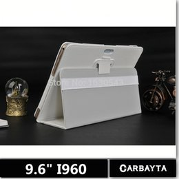 Wholesale lenovo pen - Wholesale-CARBAYTA 9.6 inch tablet case TD i960 Protective cover Our special case T950S case k960 s960 Mx960 Free gift pen 6 Color