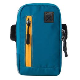 Wholesale Wallet Size For Men - Wholesale- 2017 NEW 5 colors Size 17.8CM X10CM Convention Men Women Running Sport Bag Arm band Case Bag for Phone Watch wallet