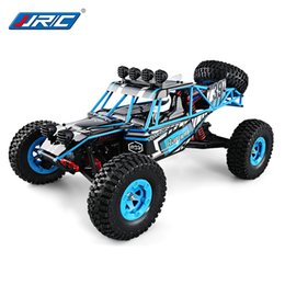 Wholesale Electric Rc Car Wheels - JJRC RC Car Electric 2.4G Four-wheel Drive Climbing RC Off-Road Driving Vehicle New Dirt Bike 1:12 4WD RC High-Speed Truck 1kg Torque