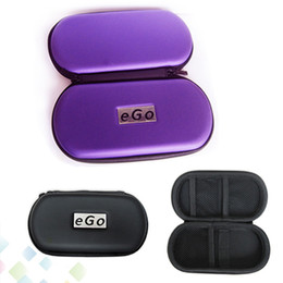 Wholesale Ego Cigarette Small Case - Best EGO Case with Zipper Large Medium Small Size Box Ego Bag for eGo Series Electronic Cigarette kit DHL Free