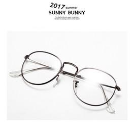 3b09bc01128 Super Vintage Round Brand Eyeglasses For Men   Women Golden Alloy Frame Eye  Glasses Popular Retro Optical Reading Eyewear LT3447