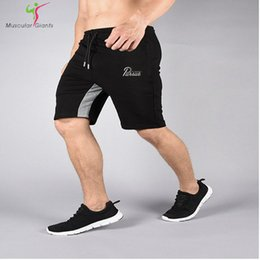 Wholesale Aesthetic Shorts - Wholesale- 2017 New Brand High Quality Men shorts Bodybuilding Fitness Gasp Gyms Aesthetics basketballRunning workout jogger shorts golds