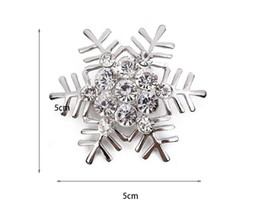 Wholesale Embedded Diamonds - Hot selling embedded diamond brooch Snowflake Cartoon blue peacock Gold owl animal brooches Christmas corsage gifts