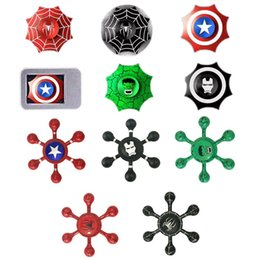 Wholesale Camouflage Wholesale For Kids - New arrived Gyro 4 Style Camouflage Fidget Spinners For decompression anxiety EDC Finger Toys For Killing Time Multicolor Free DHL