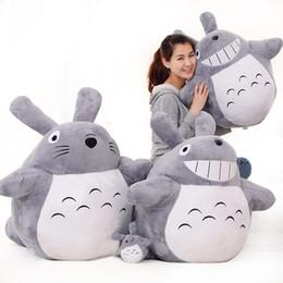 Wholesale Famous Stuff - Hot Selling Classic Movie Famous My Neighbor Totoro Stuffed Plush Toys Cartoon Cat Animal Toy Adult Children Kids Dolls Nice Gift