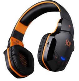 Moda Sürüm Kablosuz Bluetooth Stereo Oyun Kulaklıklar Kulaklık B3505 Ses Kontrolü Mikrofon Ile HiFi Müzik Kulaklıklar nereden yüksek bas kulaklıklar tedarikçiler