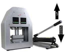Canada 6x12cm presse à rosin hydraulique presse à huile contrôleur d'affichage LCD double élément 14000PSI plus de 20 tonnes de chauffage à pression Offre