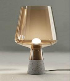 lâmpadas de mesa industriais vintage Desconto Retro Industrial Luz Da Tabela Cinza Elegante Lâmpada de Cimento Lâmpada de Cabeceira para o Quarto Lâmpada de Mesa de Escritório Iluminação D.25 x H.38cm
