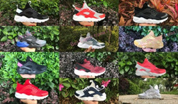 Wholesale Iv 11 - New Design Air Huarache 4 IV Running Shoes For Women & Men, Lightweight Huaraches Sneakers Athletic Sport Outdoor Huarache Shoes 5.5-11