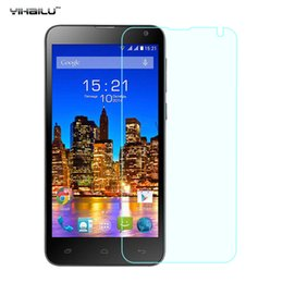 Wholesale Fly Tech - Wholesale-Yihailu For FLY Evo Tech 4 IQ4514 Tempered Glass Screen Protector Ultra Thin 2.5D Arc 9H Anti-explosion Toughened Film