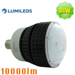 Wholesale Garage Shop Lighting - 250w metal halide hid retrofit 480v led bulb 80w e39 high bay 347v workshop garage barn shop lights 5700k daylight 3030 SMD 200-500v
