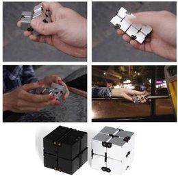 Wholesale Square Blocks Toy - INFINITY CUBE Block EDC Adult Decompression Magic Cubes Reduce Pressure Blocks Magics Square Fidget Cube Decompression Toys CCA6239 300pcs