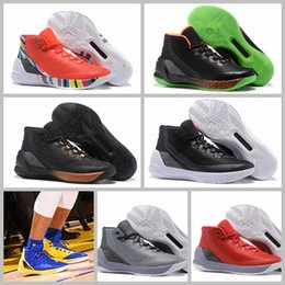 Wholesale Special Shoes Men - 2017 What the Curry 3 Special Version Great Lord PE Lights Out Basketball Shoes for High quality Stephen III Sports Sneakers Size 7-12