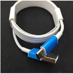 3m 2m 1m avec plateau de rouleau de film bleu main Data Sync câble micro USB Type C chargeur de cordon de charge pour Samsung S7 S6 BlackBerry LG HTC ? partir de fabricateur