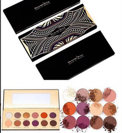 Wholesale Eyeshadow 12 Colour Palette - Free Shipping! New Makeup Eyes Coloured Raine Queen of Hearts Eyeshadow Palette 12 Colors Eyeshadow