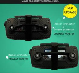 Wholesale Rocker Panels - 2017 DJI Mavic Pro drone remote control panel rocker protector rocker protection + screen protection accessories Free Shipping