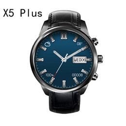Wholesale Smart Watch Steel - Smartwatch android x5plus x5 plus smart bracelet finow watch with wifi heart rate bluetooth gps tracker oled touch screen steel for men