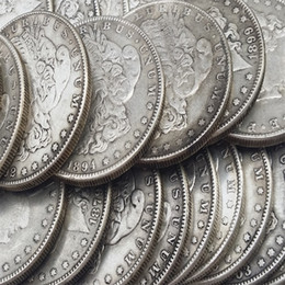 Wholesale US Coins morgan dollars coins cc cc cc S Promotion Cheap Factory Price nice home Accessories Silver Copy Coins