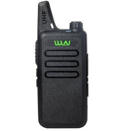 Wholesale Pmr Baofeng - WLN MINI Walkie Talkie matching Baofeng icom motorola Midland UHF400-470MHz 16 Channels SCAN MONITOR pmr gmrs FRS PC Programmabel