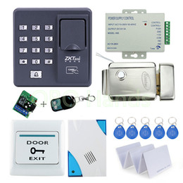 Wholesale Full Door Locks - Wholesale- Cheap price of full Fingerprint door lock system for access control with remote control