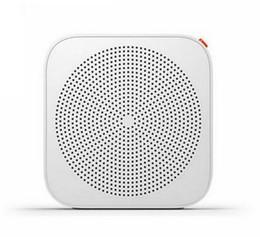 Wholesale Portable Networking - Wholesale-100% Original Xiaomi Wifi Network Radio Bluetooth Internet Radio Wireless FM Speaker Portable Player Support Android 4.0 IOS 7.0
