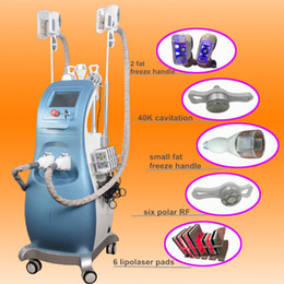 Wholesale Roller Cooler - DHL shipping vacuum RF roller body lift Lipo Laser slimming Cooling Frozen system FAT Freezing Lipofreeze Weight Loss cavitation CE approved