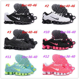 Wholesale Girls Sports Shoes Size 36 - 2017 New NZ Hot Sale Drop Shipping Famous Shox TLX KPU Girls Men Womens Athletic Sneakers Sports Running Shoes Size 36-46