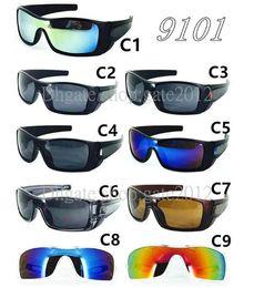 Wholesale Batwolf Sunglasses - New Style Popular batwolf Sunglass For Men Sunglasses Outdoor Sport sunglasses mix colors Google Glasses 9color
