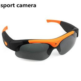 Wholesale Wholesale Digital Camera S - 2016 Hot DV Glasses Recorder 1080P 120 Degree wide angle Camera Sunglasses Sports DVR Digital Video Recorder Camcorder Camera S