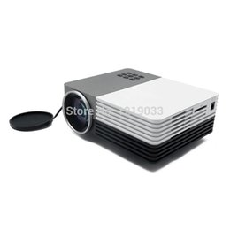 Wholesale Movie Projectors For Home - Wholesale-2016 New LED Mini Projector Home Theater Projector WXGA 480*320 For Video Games TV Movie Support HDMI VGA AV Portable Projector