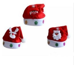 2019 carnaval crianças chapéu Novos chapéus de Decoração de Natal de Alta-grade chapéu de Natal / Papai Noel chapéu Bonito adultos Natal Cosplay Chapéus B11