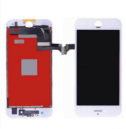 Wholesale 3d Wholesale Frames - AAA Quality iPhone 7 (4.7inch) LCD Touch Screen Display Digitizer Components and Frames Complete Assembly Replacement with 3D Touch