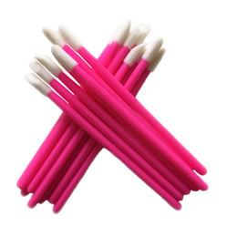 Wholesale disposable lip gloss applicators - Wholesale Price For 1000 Pcs Disposable Cosmetic Lip Brush Lipstick Gloss Wands Applicator Makeup Tool Brushes