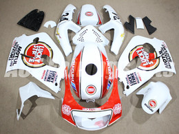 Wholesale Suzuki 1997 - Free Gifts New Fairings Kits+Tank Fit For SUZUKI SRAD GSXR750 GSXR600 96-00 1996 1997 1998 1999 2000 R600 R750 bodywork set red white lucky